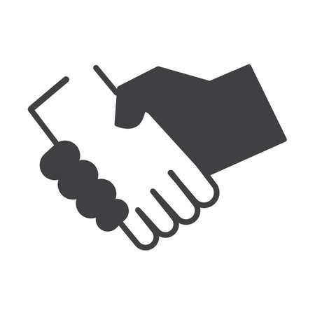 zakendeal Stock Illustratie