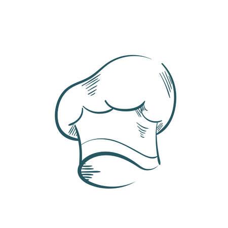 Une illustration de chapeau de chef.