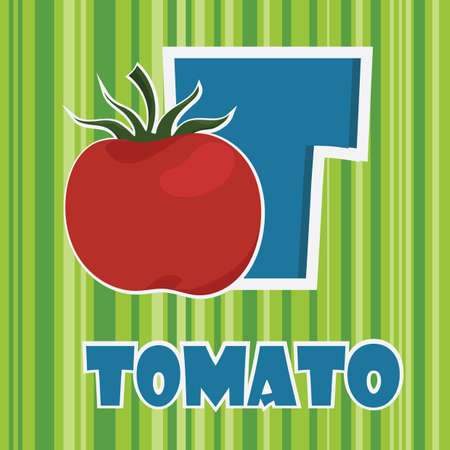 t for tomato