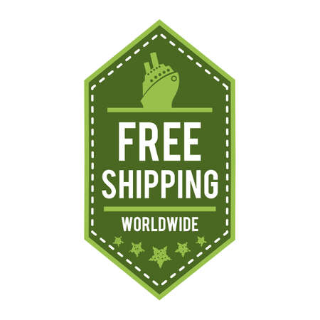 free shipping worldwide label