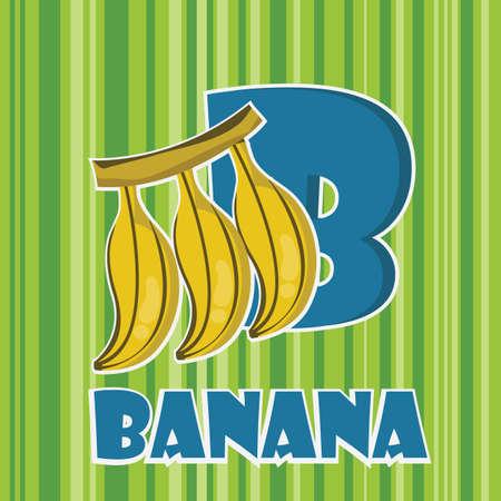 b for banana
