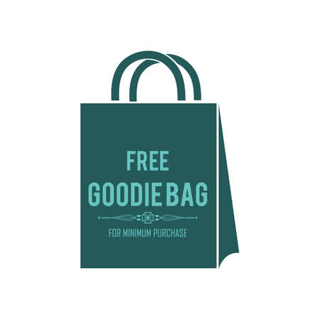 free goodie bag label Stock fotó - 81419429