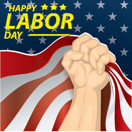 Happy labor day wallpaper Stock fotó - 81487096