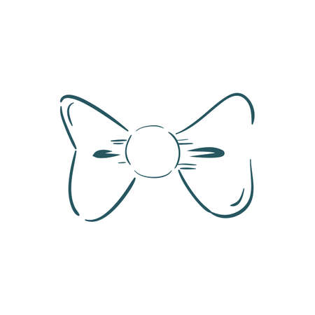 A bow tie illustration.
