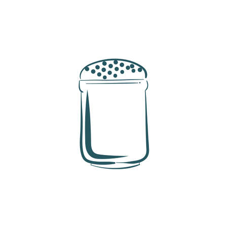 A salt shaker illustration.