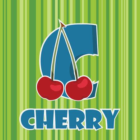 c for cherry Stok Fotoğraf - 106672355