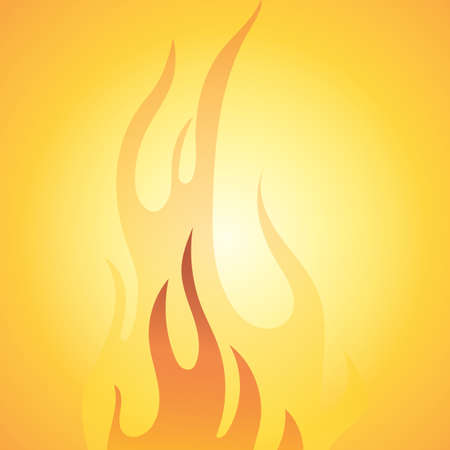 抽象的な火災の背景