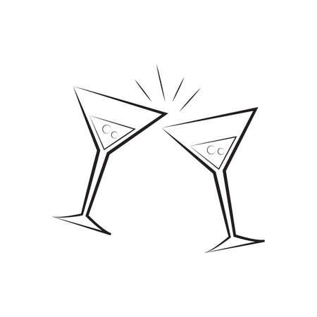 マティーニ グラス