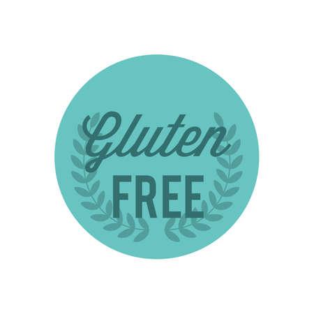Etichetta senza glutine Archivio Fotografico - 81419446
