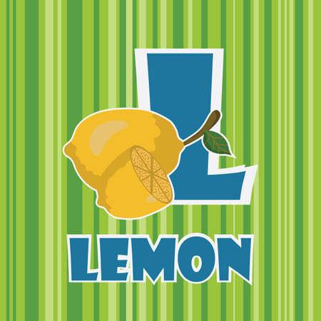 l for lemon