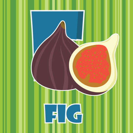 f for fig Stok Fotoğraf - 106672373