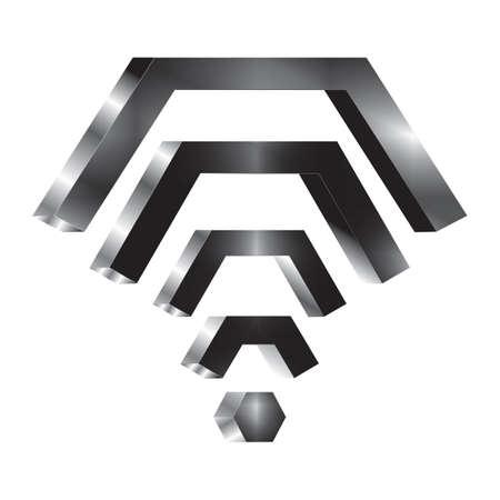wifi icons 版權商用圖片 - 106672379