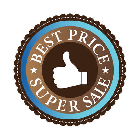 best price label Stockfoto - 106672382
