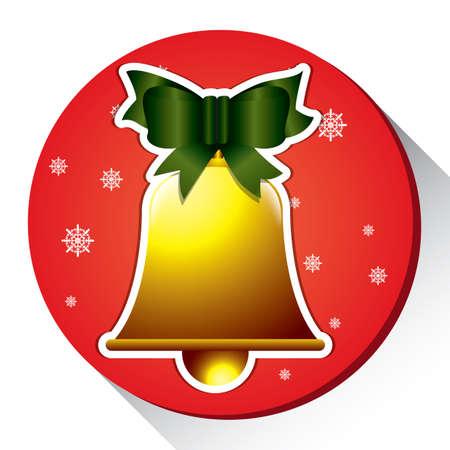 Campana di Natale Archivio Fotografico - 81419451