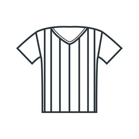 referee jersey Banco de Imagens - 81419457