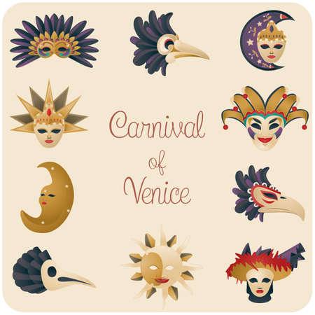 carnival of venice set