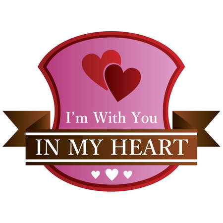 in my heart label