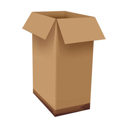 cardboard box Stock Vector - 106672426