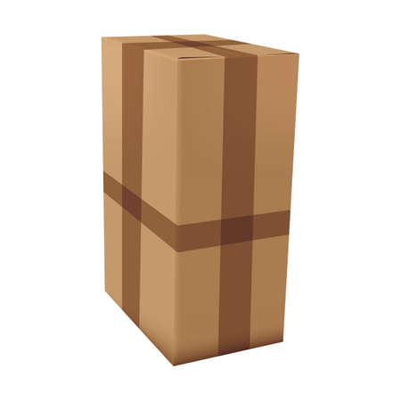 cardboard box Illustration