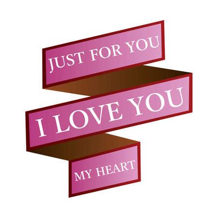 i love you label Stok Fotoğraf - 106672455