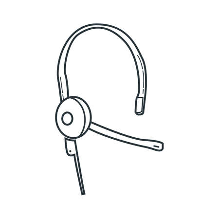 headset Illustration
