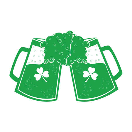beer mugs Çizim