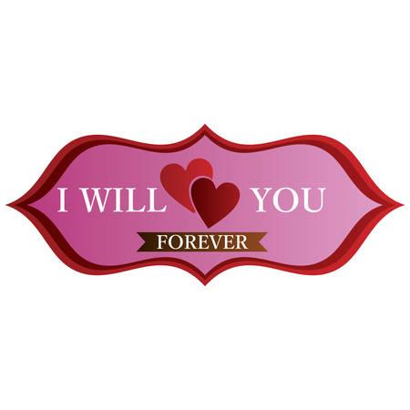 i love you forever label