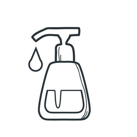 soap dispenser  イラスト・ベクター素材
