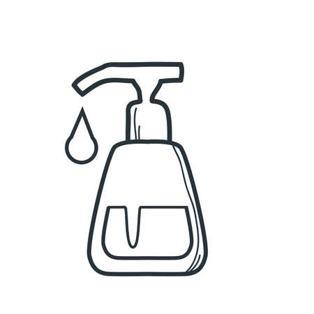 soap dispenser Illustration