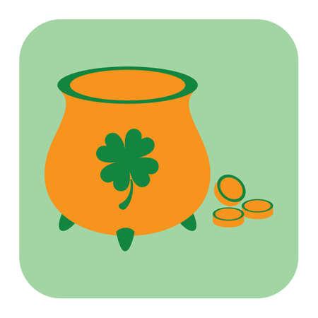 pot of golds Ilustrace