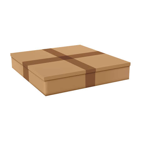 cardboard box Stock Vector - 106672518