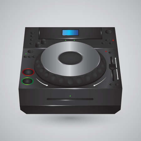 dj turntable Çizim