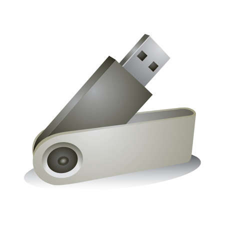 flash drive Stock Illustratie