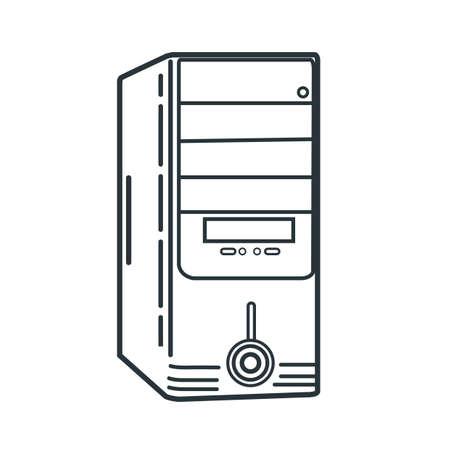 caja de la computadora
