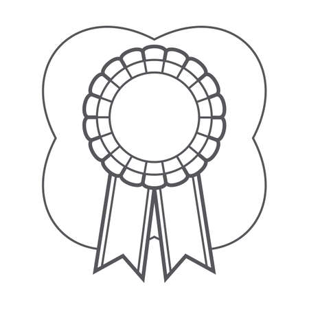 ribbon rosette Banco de Imagens - 106672593