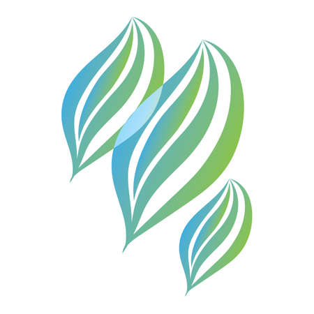 緑の葉  イラスト・ベクター素材
