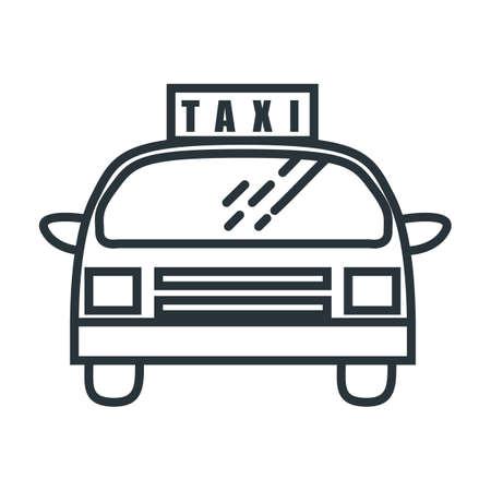 taxi Foto de archivo - 106672608