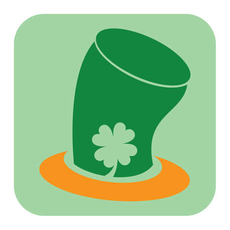 hat with a shamrock