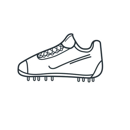 football boot Illustration