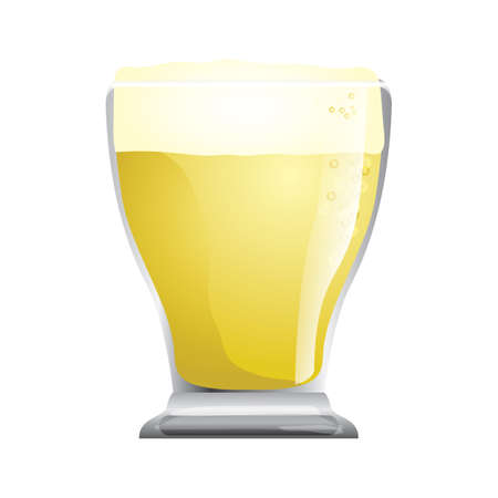 beer glass Ilustrace