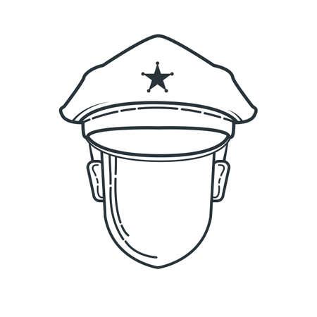 policeman Illusztráció