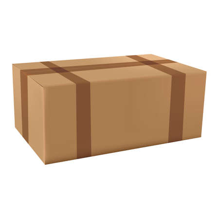 cardboard box Stock Vector - 106672706