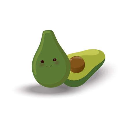 Avocado 向量圖像
