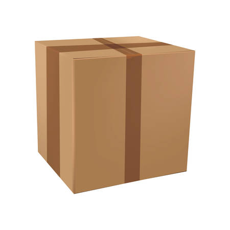 cardboard box Stock Vector - 106672721