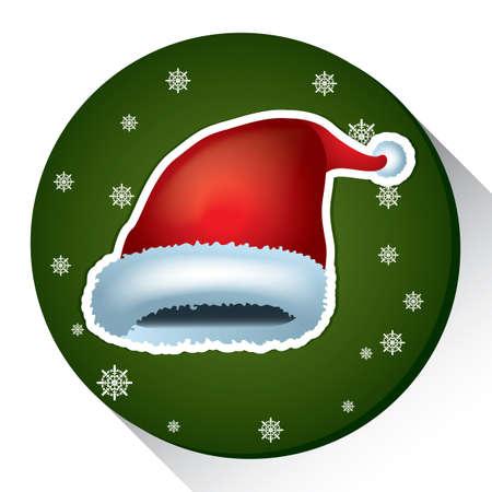 christmas cap Illusztráció