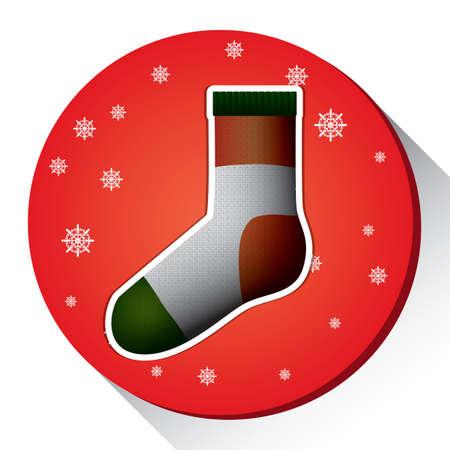 クリスマスを靴下します。