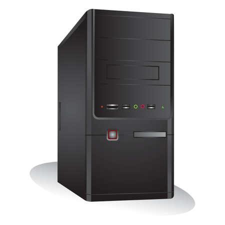 computerkast Vector Illustratie