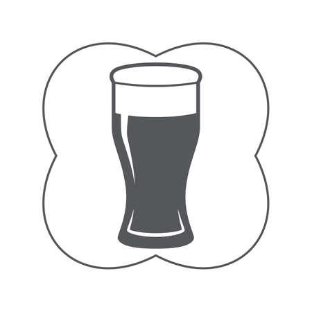 una pinta di birra