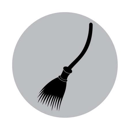 broomstick Ilustracja