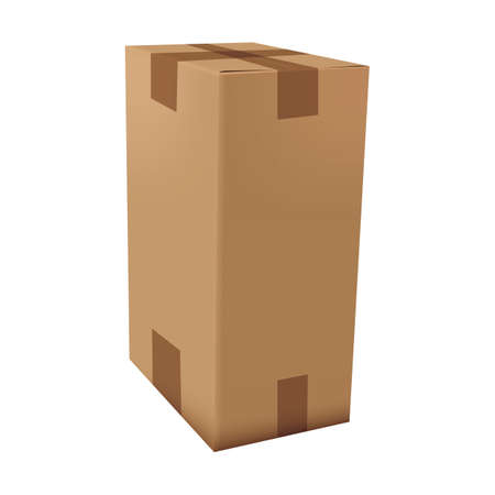 cardboard box Stok Fotoğraf - 106672807